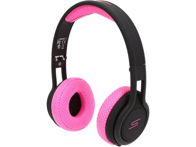 SMS Audio Pink SMS-ONWD-SPRT-PNK STREET by 50 On Ear Wired Sport Headphones
