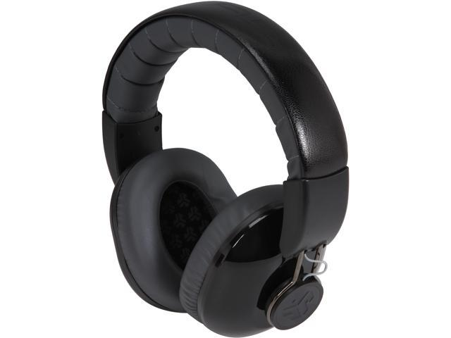 JLAB Midnight Black / Gumetal BOMBORA-BLK-BOX 3.5mm Connector Over the Ear Headphones, Midnight Black / Gumetal