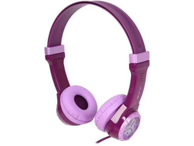 JLab JBuddies Kids Volume Limiting Headphones - Purple - JK-PURPLE-RTL