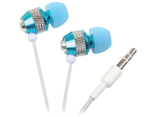 Rocksoul Blue ER-101081BC 3.5mm Connector Supra-aural Isolating Stereo Ear Phone for iPod , iPhone ,MP3, PC