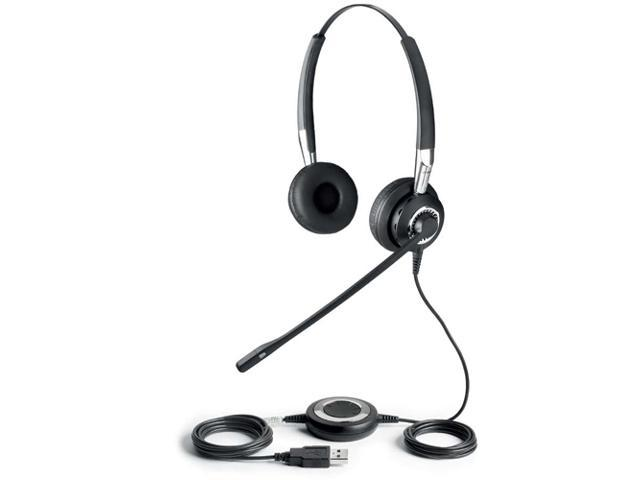 Jabra BIZ 2400 DUO USB Connector Supra-aural Stereo Noise Canceling Headset