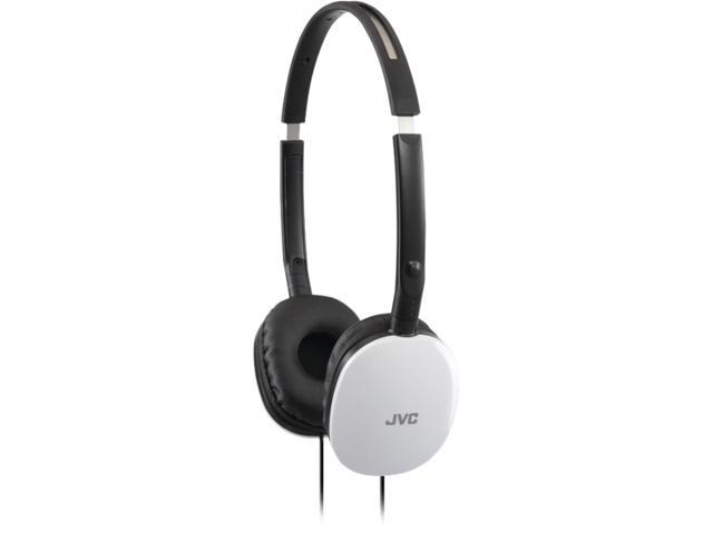 JVC White HAS160W Flats Headphones