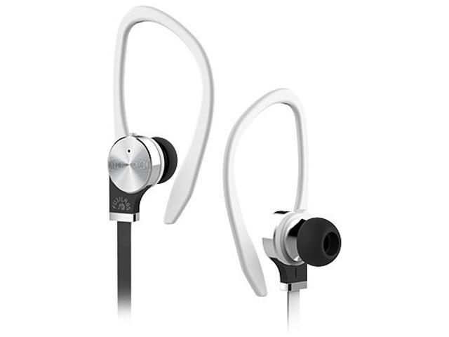 Fuji Labs White AUFJ-SQNTS306WH 3.5mm Connector Sonique SQ306 Premium Titanium In-Ear Headphones