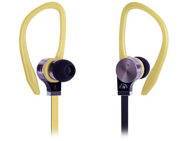 Fuji Labs Yellow AUFJ-SQNBS306YE 3.5mm Connector Sonique SQ306 Premium Beryllium In-Ear Headphones
