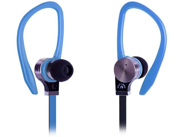 Fuji Labs Blue AUFJ-SQNBS306BL 3.5mm Connector Sonique SQ306 Premium Beryllium In-Ear Headphones