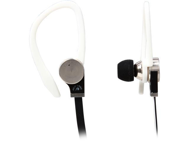 Fuji Labs White AUFJ-SQNBS306WH 3.5mm Connector Sonique SQ306 Premium Beryllium In-Ear Headphones