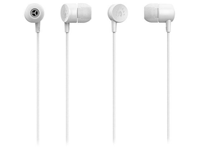 Fuji Labs White AUFJ-SQNMS101WH 3.5mm Connector Sonique SQ101 Designer In-Ear Headphones