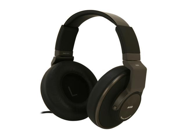 AKG Black K550 3.5mm/ 6.3mm Connector Around-Ear Closed-Back Reference-Class Headphone