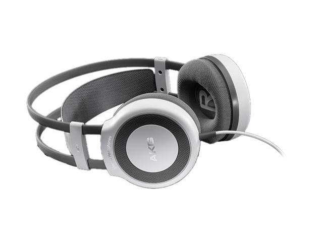 AKG White K514 MKII 3.5mm/ 6.3mm Connector On-Ear Natural Sound Stereo Headphone