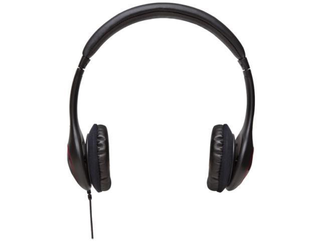 V7 HA510-2NP Deluxe Headphones with Volume Control, Black