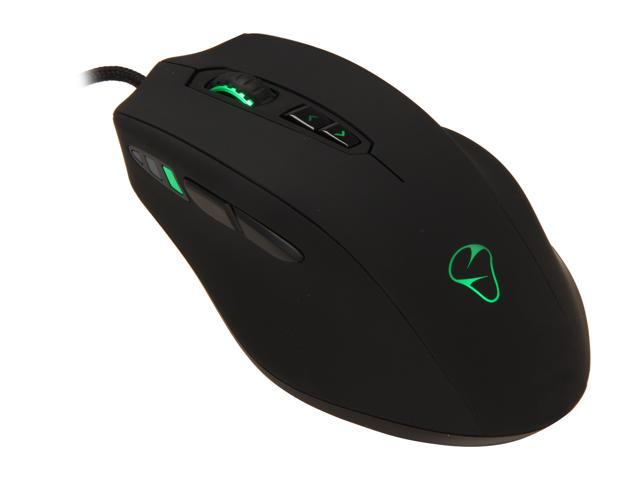 Mionix NAOS 8200 000MIO8200M Black 7 Buttons 1 x Wheel USB Wired Laser 8200 dpi Mouse