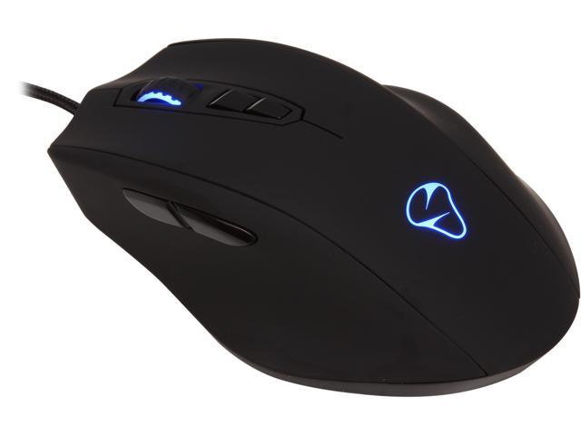 Mionix NAOS 7000 000MIO7000M Black 7 Buttons 1 x Wheel USB Wired Optical 7000 dpi Mouse