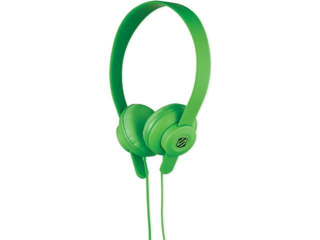 SCOSCHE Green SHP400-GN 3.5mm Connector lobeDOPE Headphones - Green