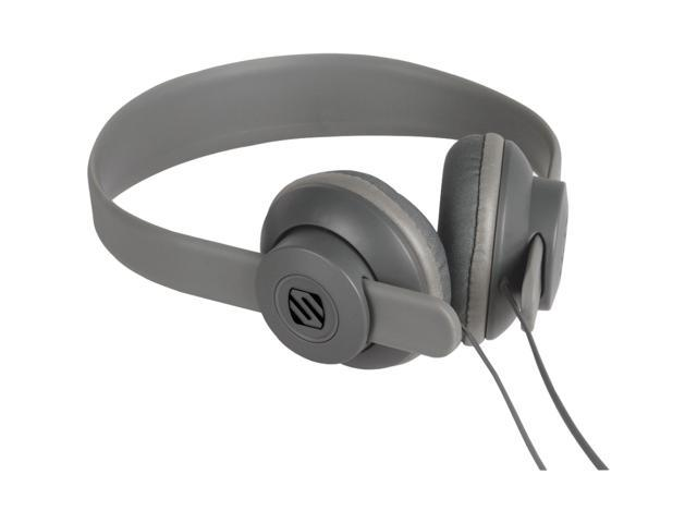 SCOSCHE Gray SHP400-GY 3.5mm Connector lobeDOPE Headphones - Gray