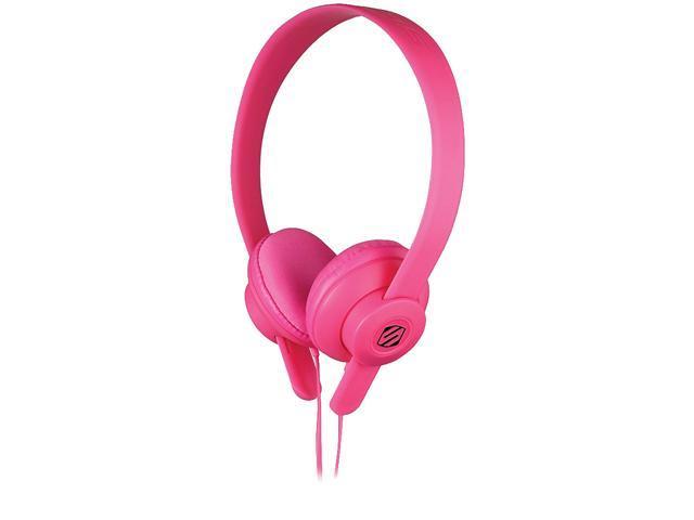 SCOSCHE Pink SHP400-PK 3.5mm Connector lobeDOPE Headphones - Pink