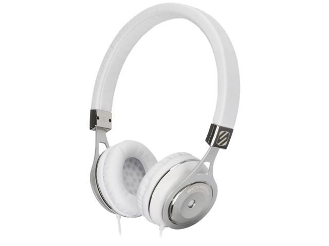 SCOSCHE White RH600W 3.5mm Connector Reference On Ear Headphones (White)