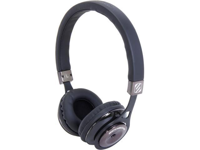 SCOSCHE Black RH600BK 3.5mm Connector Reference On Ear Headphones (Black)