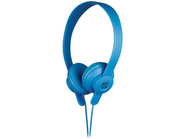 Scosche lobeDOPE Full Spectrum On-Ear Headphes - Blue - SHP400-BL