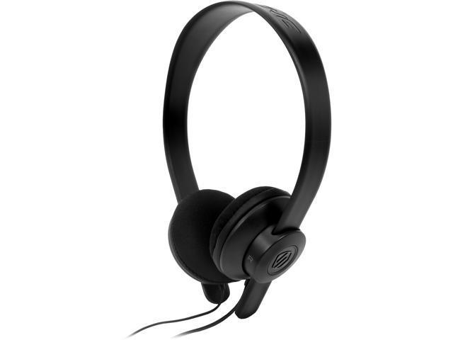 Scosche lobeDOPE On-Ear Headphones w/ mic - Black - SHP451M-BK