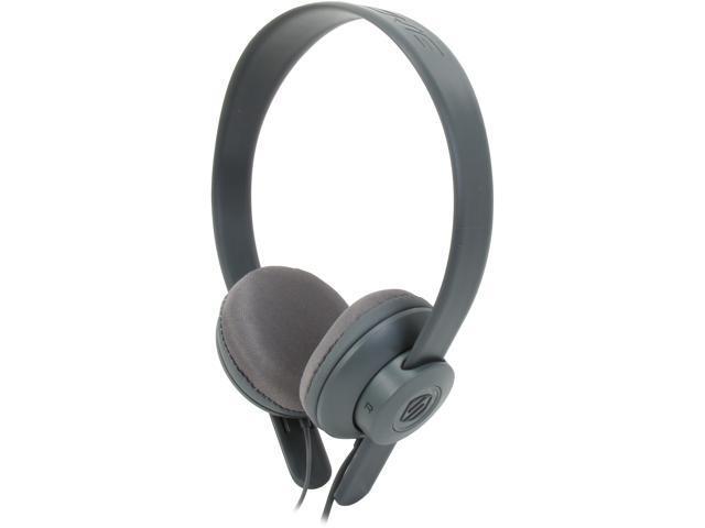 Scosche lobeDOPE On-Ear Headphones w/ mic - Gray - SHP451M-GY