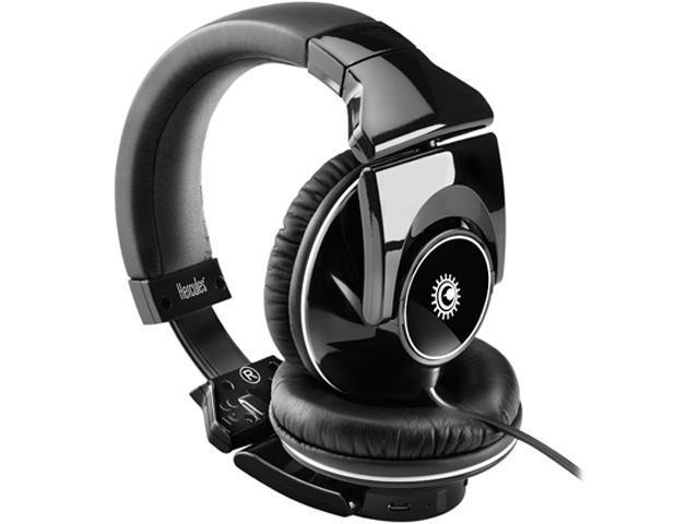 Hercules 4780548 3.5mm Connector HDP DJ Light-Show ADV DJ headphones with light-show pulsing on the beat
