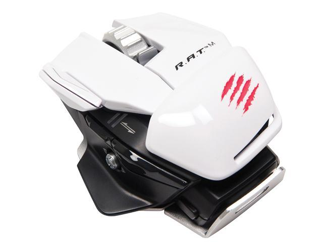 Mad Catz R.A.T. M Wireless Mobile Gaming Mouse for PC, Mac and Mobile Devices - White