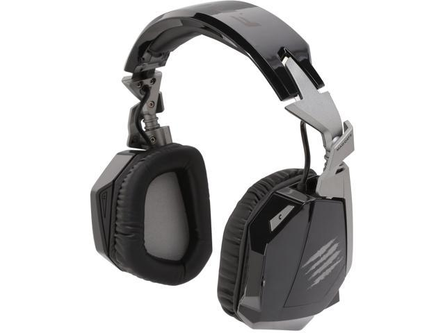 Mad Catz F.R.E.Q. 3 Circumaural Stereo Gaming Headset for PC, Mac and Smart Devices - Black