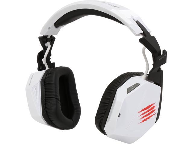 Mad Catz F.R.E.Q. 3 Circumaural Stereo Gaming Headset for PC, Mac and Smart Devices - White