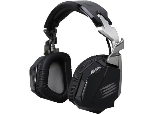 Mad Catz F.R.E.Q.4D 3.5mm/ USB Connector Circumaural Stereo Gaming Headset for PC, Mac and Smart Devices - Black