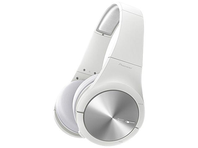 Pioneer SE-MX7-W Dynamic Stereo Headphones with ADVANCED BASS LEVEL CONTROL
