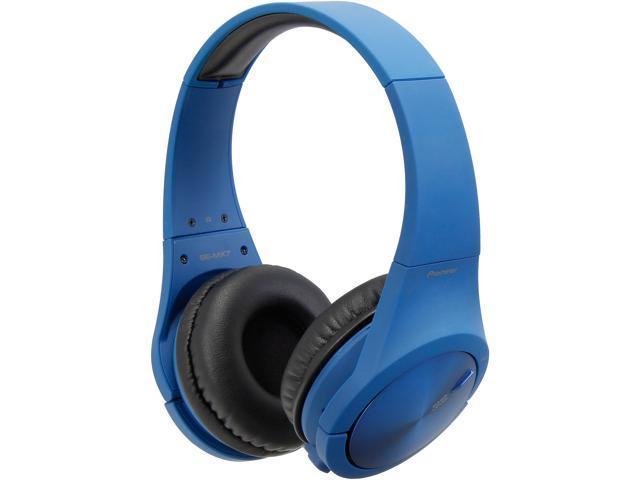 Pioneer SE-MX7 On-Ear Headphones-Blue