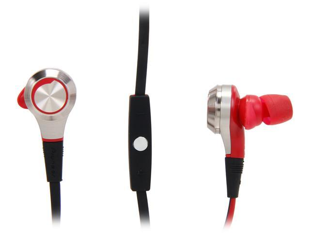 Pioneer SE-CX8 In-Ear Headphones-Red