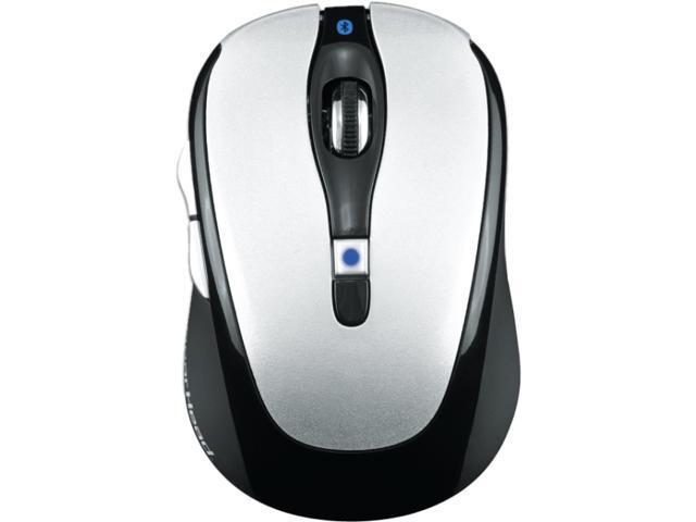 GEAR HEAD BT9500BLK 1 x Wheel Bluetooth Wireless Optical 800/1200/1600 dpi Mouse for Mac