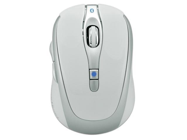 GEAR HEAD BT9400WHT White 1 x Wheel Bluetooth 3.0 Bluetooth Wireless Optical DPI 800/1200/1600 Mouse for Mac