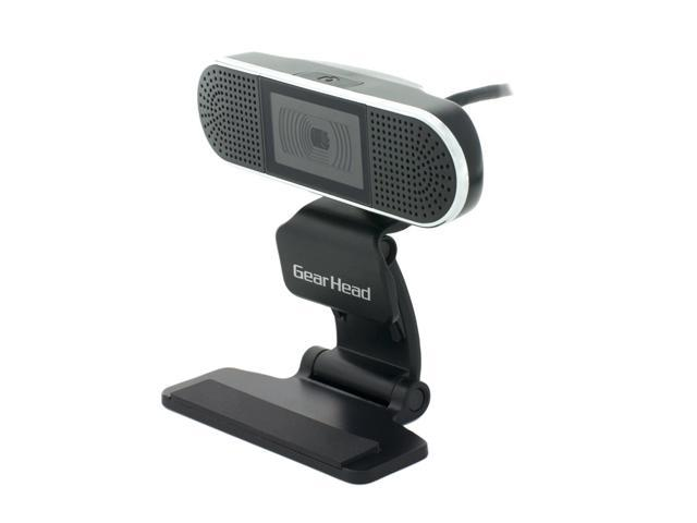 GEAR HEAD WC7500HD USB 2.0 4MP 720P HD Webcam with Dual Microphone