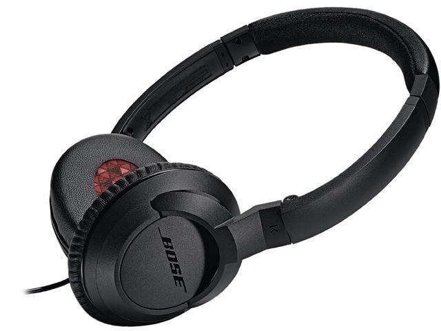 Bose Black SoundTrue On-Ear Headphones