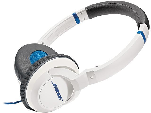 Bose White SoundTrue On-Ear Headphones