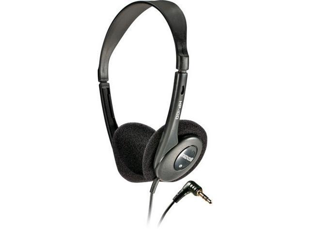 Maxell HP-100 Supra-aural Lightweight Stereo Headphones