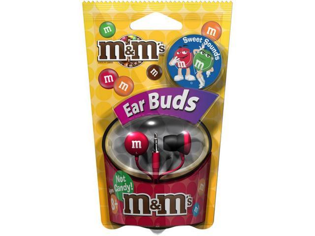 Maxell MMEB-R Canal M&M'S Red Ear Bud