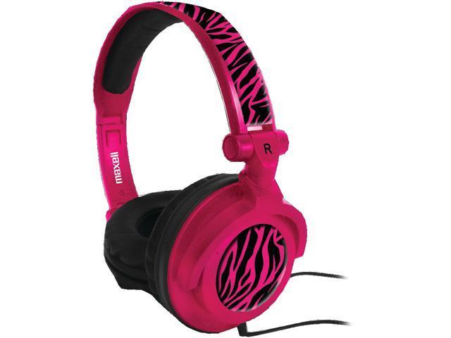 Maxell Pink 190220 - AMPPZ Amppz Amplified Heavy Bass Headphones