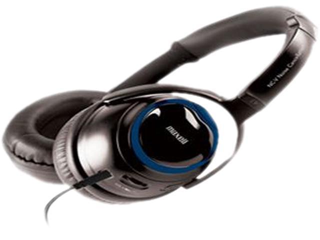 Maxell MX190208 Binaural NC V Noise Cancel Headphones