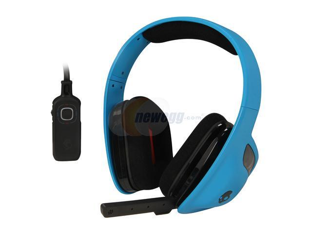SKULLCANDY SLYR 3.5mm Connector Circumaural Headset - Blue