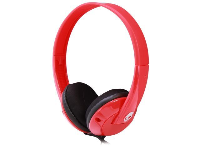 Skullcandy Uprock Headphones Red/White-SGURFZ-083