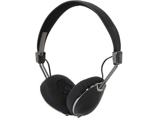 Skullcandy Black/Black NAVIGATOR BLACK/ BLACK Navigator Headphones with Mic, Black/ Black