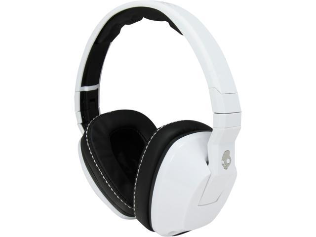 Skullcandy Crusher White S6SCFZ-072 3.5mm Connector Supra-aural Headphone