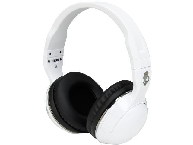 Skullcandy White/Black/Gun Metal S6HSGY-378 Hesh 2 Micd Over-Ear Headphones with Mic