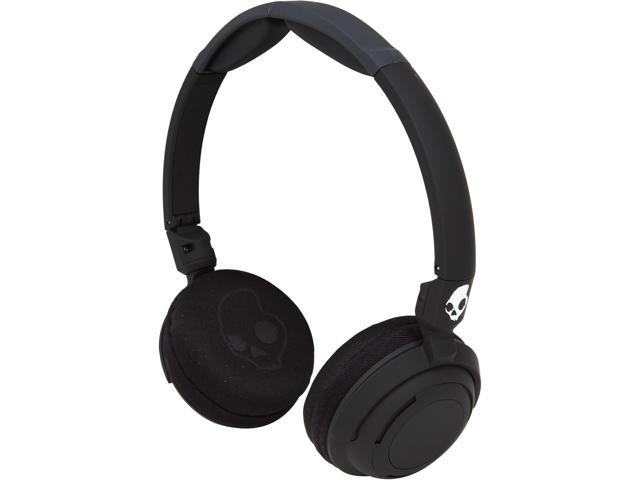 Skullcandy Black S5LWGY-343 Lowrider Black On-Ear Headphones with Mic
