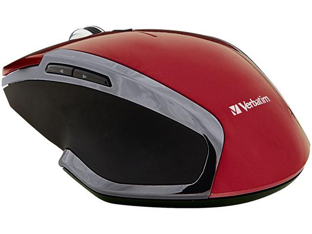 Verbatim 99018 Red 6 Buttons 1 x Wheel RF Wireless Mouse