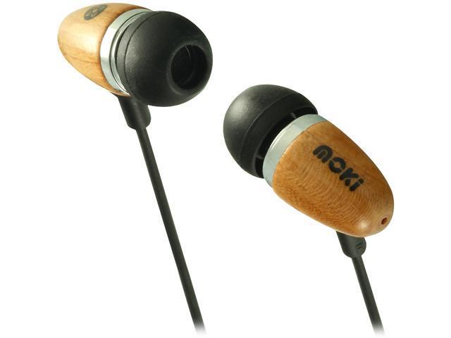 Moki Brown ACCHCR 3.5mm Connector Retro Earphones Brown