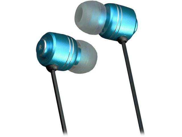 Moki Blue ACCHPIEB 3.5m (gold plated) Connector Pro Noise Isolation Earbuds - Blue